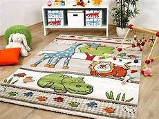 Kinderlen Und Teppiche by Kinder Teppich Savona Lustige Zoowelt Beige Teppiche