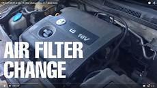 luftfilter golf 6 vw golf mk4 1 6 16v air filter change ibiza 6l fabia