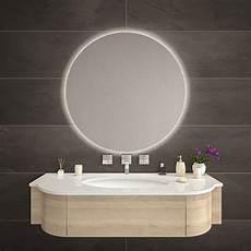 Badspiegel Rund Mit Beleuchtung - spiegel rund mit led hintergrundbeleuchtung diana
