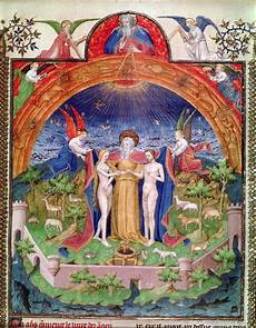 et creation the creation god introducing adam and an illustration by jean fouquet temple study