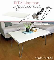 Table Hack by Ikea 10 Linnmon Coffee Table Hack By Token Bliss