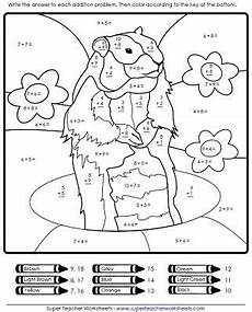 groundhog day math worksheet groundhog day activities groundhog day kindergarten subtraction