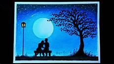 13 Lukisan Pemandangan Romantis Gambar Kitan