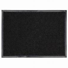 6 Ft Door Mat by Mohawk Home Utility Bay Black Rectangular Door Mat Common