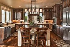 open house plans with large kitchens craftsman house plans craftsman style home plans