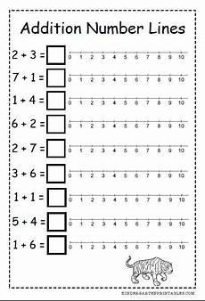number line addition worksheets free printables number