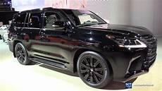 lexus lx 570 black edition 2020 2019 lexus lx 570 inspiration series exterior and