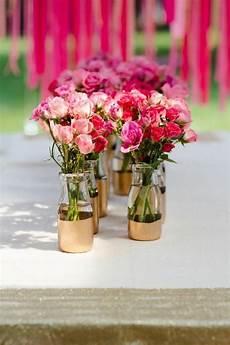 decoration pour fleur deco fleurs table anniversaire