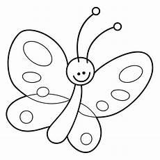 Malvorlage Schmetterling Kinder Ausmalbild Schmetterling 09 Basteln