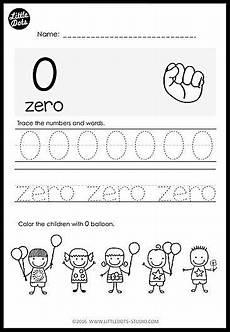 kindergarten numbers 0 to 20 worksheets and activities little dots education preschool