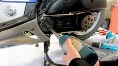 roller lackieren anleitung mofadrossel tutorial distanzring einbauen oder entfernen