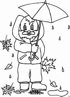 Gratis Malvorlagen Regenschirm Hase Mit Regenschirm Regen Ausmalbild Malvorlage Comics