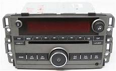 saturn vue 2008 factory stereo xm ready mp3 6 disc changer
