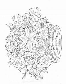 Ausmalbilder Sommerblumen Summer Flowers Printable Coloring Pages Free Large Images