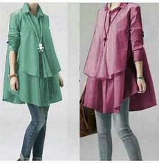 Model Baju Atasan Wanita Lengan Panjang Polos Cantik Modis