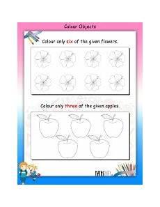 lkg math worksheets page 2