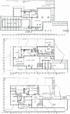 kaufmann house floor plan richard neutra kaufmann house floor plans