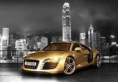 audi r8 gold gold chrome audi r8 the supercar