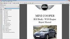 motor auto repair manual 2005 mini cooper on board diagnostic system mini cooper r52 convertible 2005 2008 motor w10 manual car repair manuals
