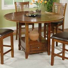 Kitchen Table With Lazy Susan by Winners Only Zahara Counter Height Dining Table With