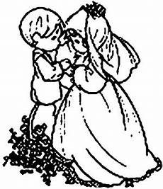 Gratis Malvorlagen Hochzeit Kinderpaar Ausmalbild Malvorlage Hochzeit
