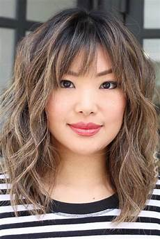 medium length shag hairstyles with bangs 30 shag haircut exles to suit all tastes lovehairstyles com
