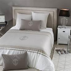 parure de lit en coton motifs rayures 240x260 barbade