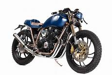 yamaha xj550 cafe racer matteucci garage grease n gas