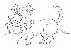 Buku Mewarna Seri Binatang 2 Anjing Bahan Sekolah Minggu
