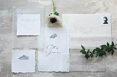 Wedding Invitation Vellum ethereal vellum wedding invitations