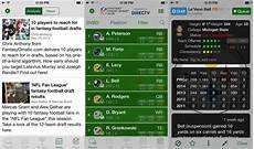 best nfl 2015 fantasy football apps for iphone draft drop and track your players like a pro