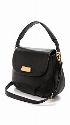 lyst marc by marc new q lil ukita bag black in