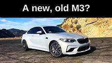 2019 bmw m2 competition the new e46 one take