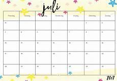 Kalender 2018 Juli - juli kalender 2017 pap 237 rov 237 věci