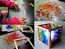 kreative le aus eisstielen selber bauen diy ideen mit