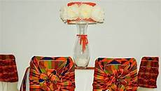 masoria amore s african inspired table setting with kente fabric from ghana gorgeous wedding