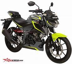 Suzuki Gsx S150 Modifikasi by Modifikasi Striping Suzuki Gsx S150 Black Simpel Motoblast