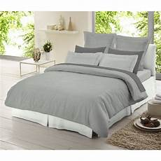 dormisette light grey chambray 100 brushed cotton duvet cover cold winter use ebay