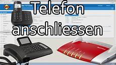 Telefon An Fritzbox Anschliessen Und Rufnummer Zuweisen