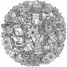 Ausmalbilder Weihnachten Mandalas Mandala Zu Weihnachten Ausmalbilder Als Geschenkideen