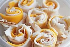easy to make snacks turkey and cheese rolls recipe