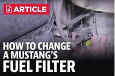 How To Change Mustang Fuel Filter Lmr