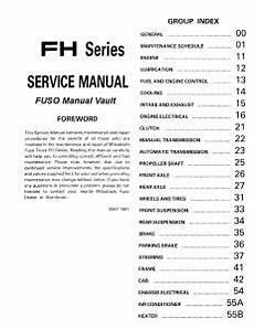 car repair manuals online pdf 1992 mitsubishi truck engine control 1992 1995 mitsubishi fuso fh100 truck service manual pdf download