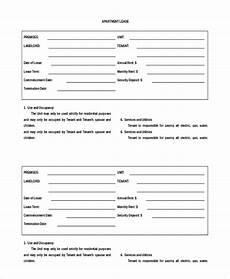 Apartment Rental Agreement 8 Free Word Pdf Documents