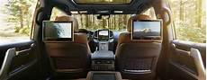 toyota highlander rear entertainment system 5 things you need to about the 2016 toyota land cruiser