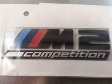 amazing bmw m 2 competition trunk stick emblem genuine new bmw 51148079564 2019 mycarboard