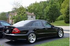 mercedes e55 amg w211 with rennen forged r5 x