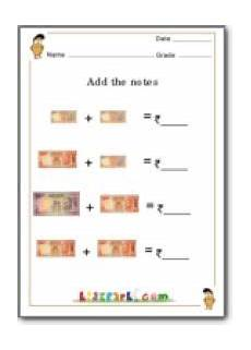 money worksheet for grade 2 india 2644 money worksheet for grade 3 in rupees yahoo india image search results education money