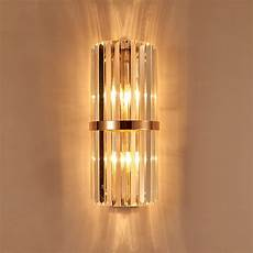 led vertical crystal wall l sconce for hotel foyer large wall lighting e14 mirror led