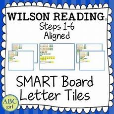 wilson reading system steps 1 6 aligned smart board letter tiles this is an essential tool for